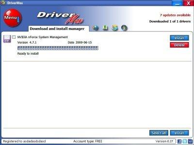 DriverMax Установка драйвера