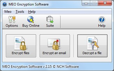 MEO File Encryption