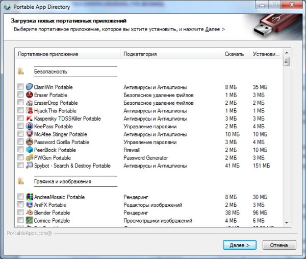 portableapps список программ для установки