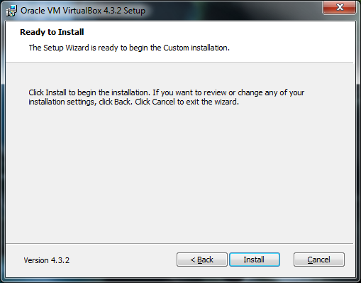 Установка virtualbox 5