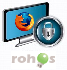 Шифрование приложений. Rohos Disk Encryption